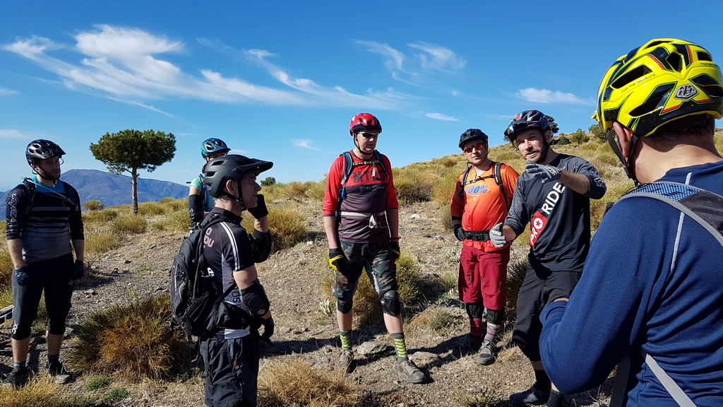 Mountain bike skills coaching in Spain