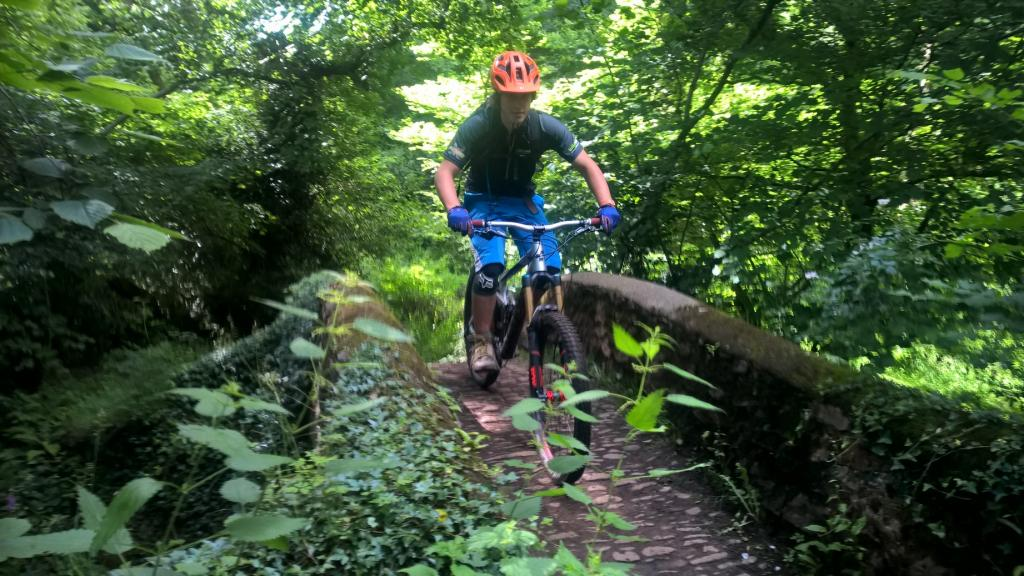 Exmoor mountain biking