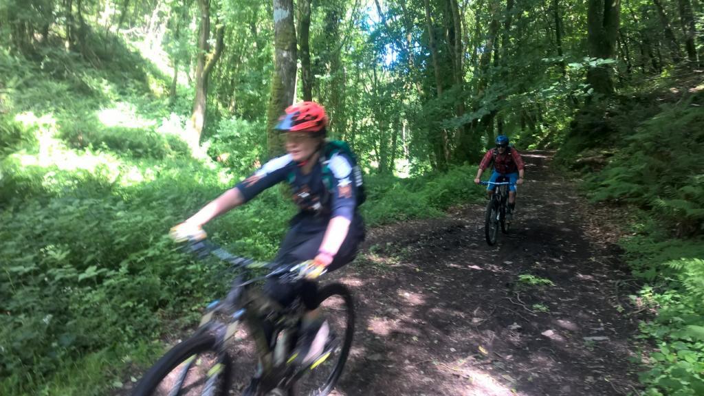 Exmoor MTB trails