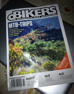 O2 Bikers Magazine Cover