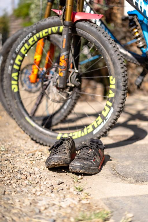 Don't forget your mountain biking shoes