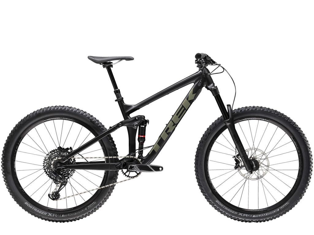 Mountain bike holiday hire bike, Trek Remedy 8