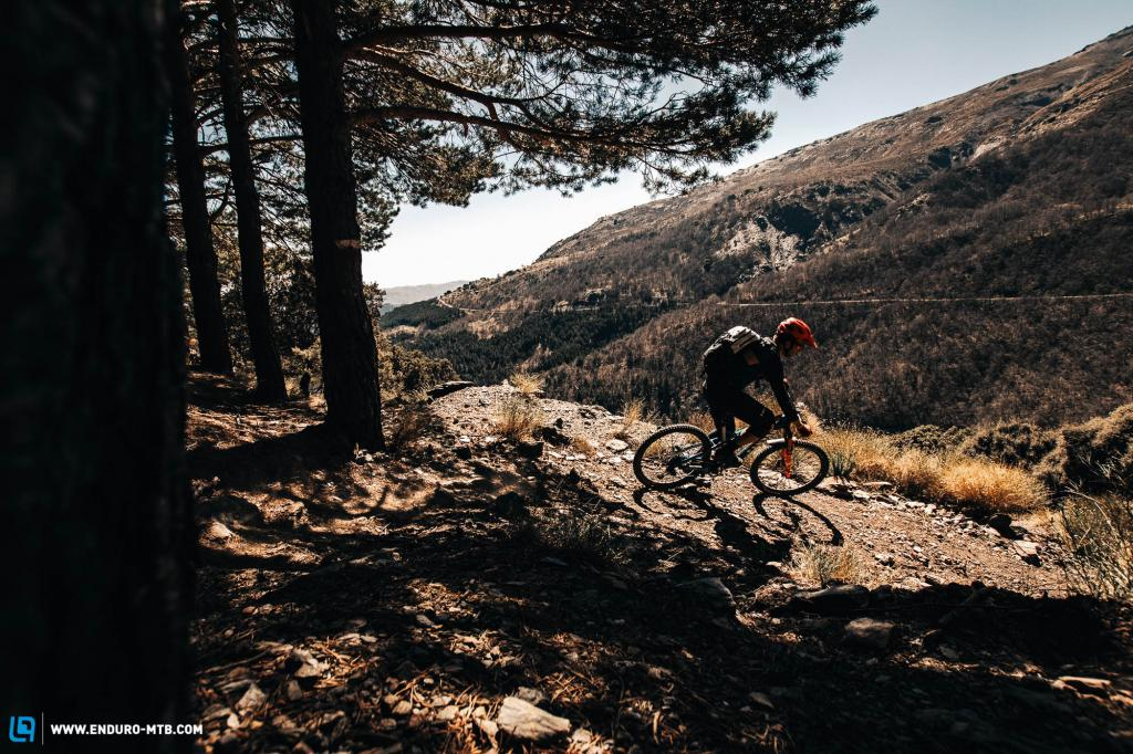 High altitude singletrack in Spain