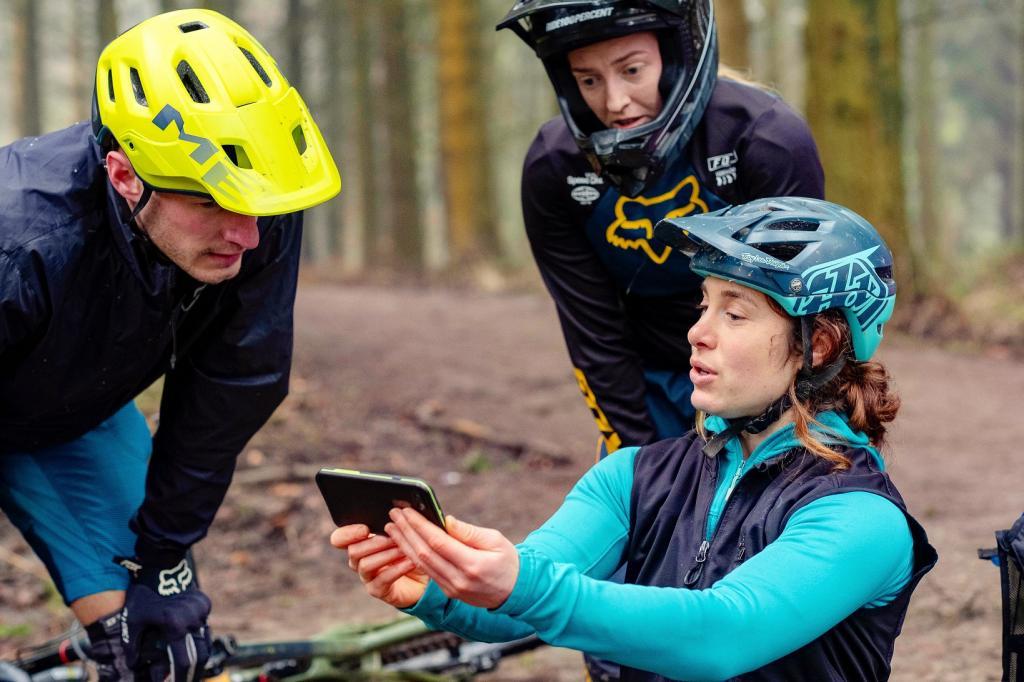 Trailside skills coaching