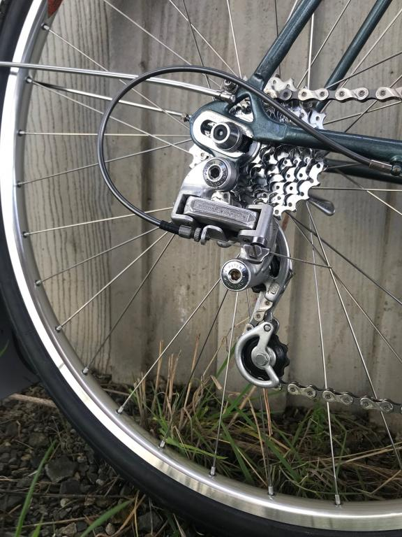The derailleur system