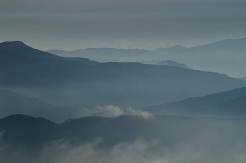 Misty Sierra Nevada