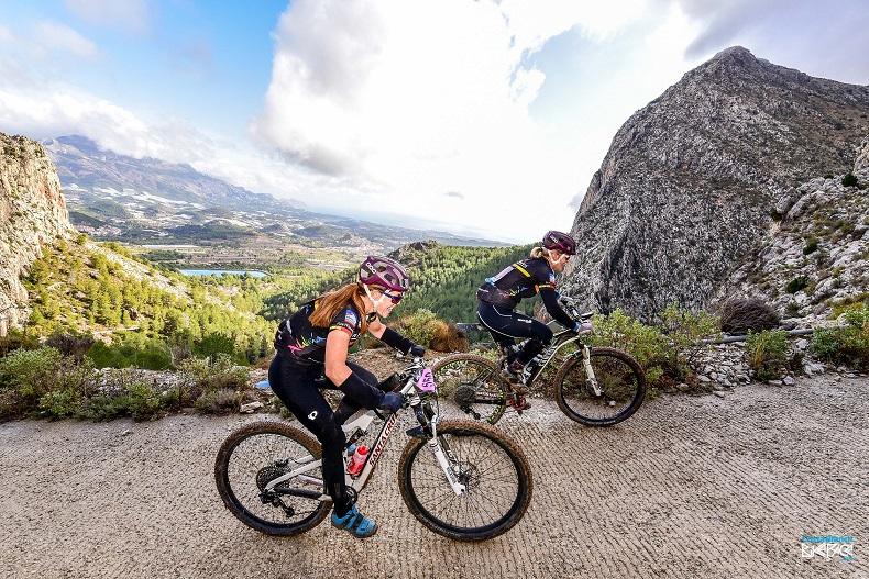 mountain bike racing Spain