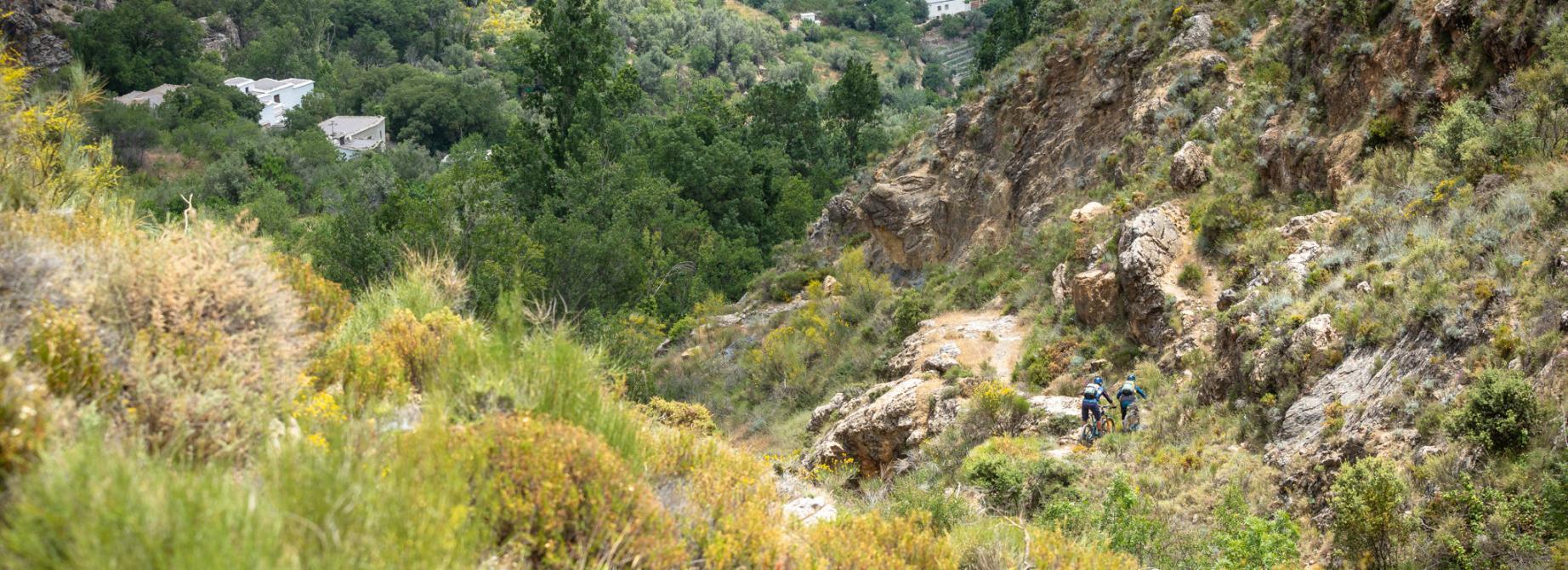 Mountain biking in Spain's Sierra Nevada