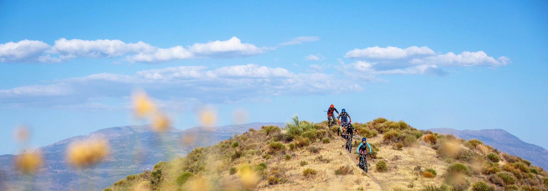 Mountain bike trips in Spain