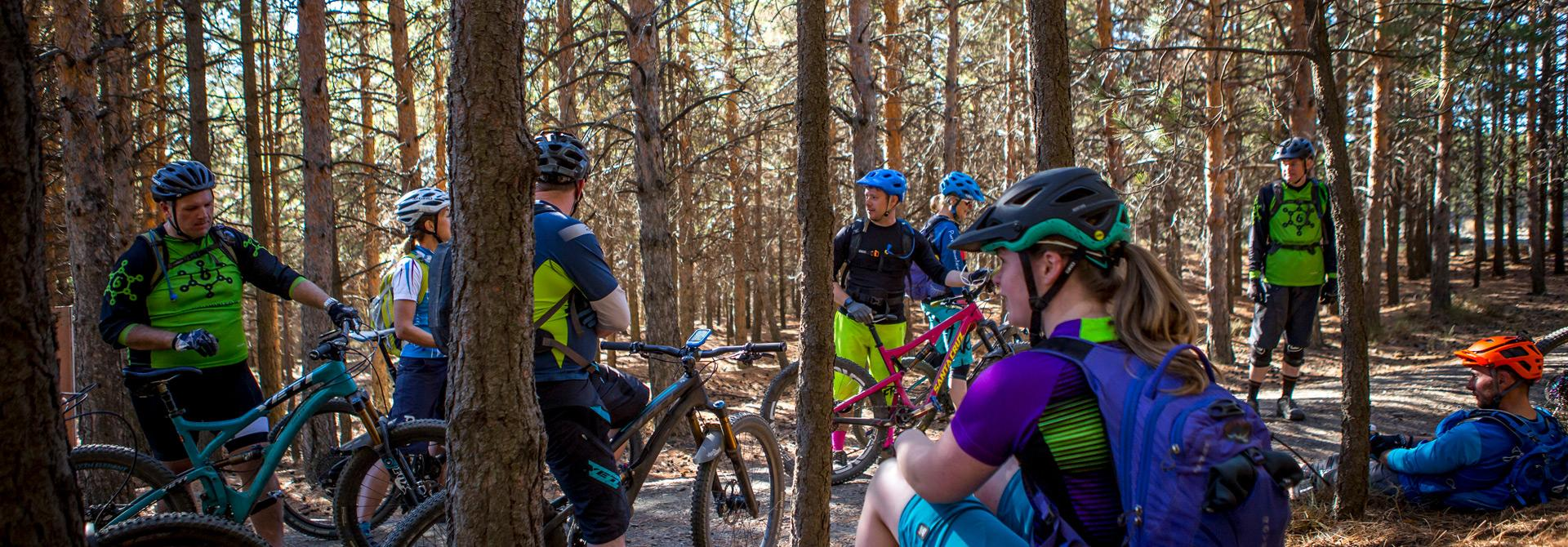 Group mountain bike holiday in Spain