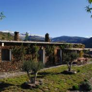 The farmhouse terrace